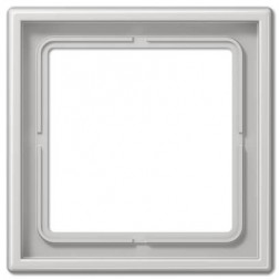 Рамка 1-постовая Jung LS 990 светло-серая LS981LG