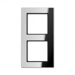 Рамка 2-постовая Jung A creation стекло зеркальное AC582GLSI