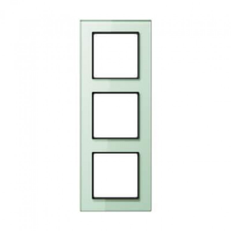 Рамка 3-постовая Jung A creation стекло матовое AC583GLWMT