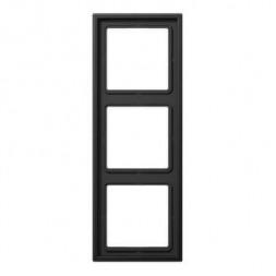 Рамка 3-постовая Jung LS 990 dark AL2983D