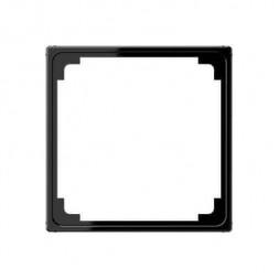 Рамка промежуточная для монтажа изделий с крышкой 50х50 Jung A 500 черная A590ZSW