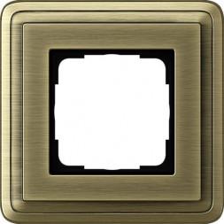 Рамка 1-постовая Gira ClassiX бронза 0211621