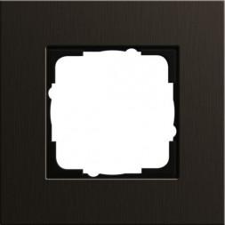 Рамка 1-постовая Gira Esprit коричневый 0211127