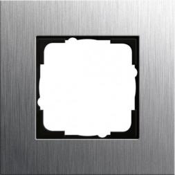 Рамка 1-постовая Gira Esprit нержавеющая сталь 0211219