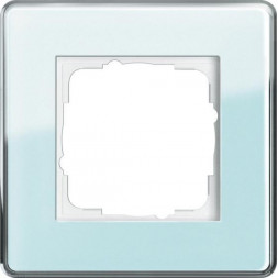 Рамка 1-постовая Gira Esprit салатовое стекло С 0211518