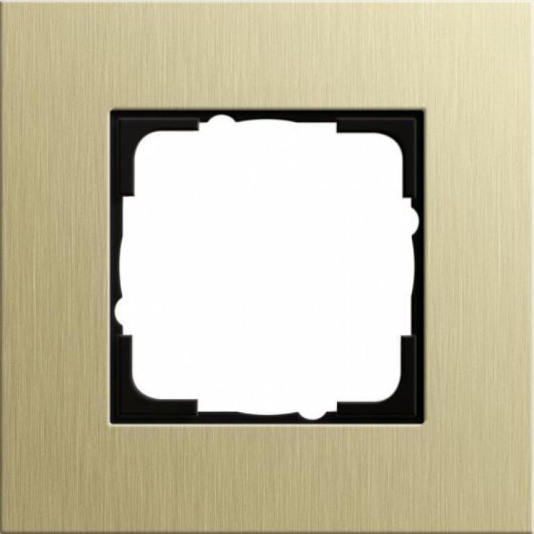 Рамка 1-постовая Gira Esprit светло-золотой 0211217