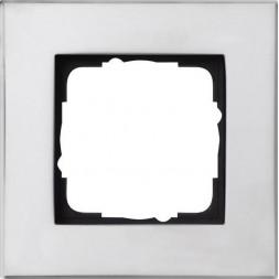 Рамка 1-постовая Gira Esprit хром 021110