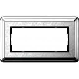 Рамка 2-модульная Gira ClassiX Art хром 1002681