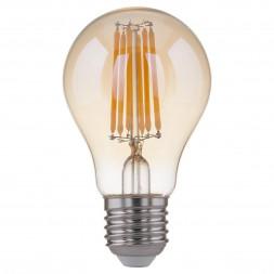 Лампа светодиодная филаментная F E27 8W 3300K 4690389108327
