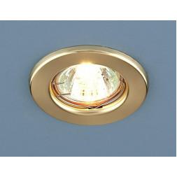 Встраиваемый светильник Elektrostandard 9210 MR16 GD золото 4690389055584