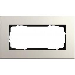 Рамка 2-модульная Gira Esprit Lenoleum-Multiplex светло-серый 1002220