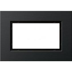 Рамка 2-модульная Gira Esprit черный 1002126