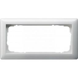 Рамка 2-модульная Gira Standard 55 чисто-белый глянцевый 100203