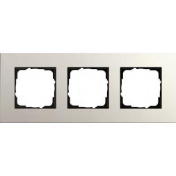 Рамка 3-постовая Gira Esprit Lenoleum-Multiplex светло-серый 0213220