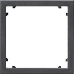 Рамка адаптерная Gira System 55 для устройств с накладкой 45х45мм антрацит 028328