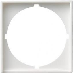 Рамка адаптерная Gira System 55 для устройств с накладкой 50x50 чисто-белый глянцевый 028103