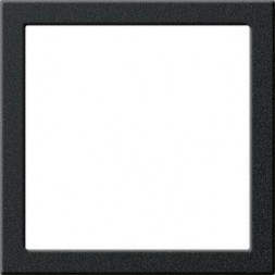 Рамка монтажная Gira System 55 черный матовый 264810