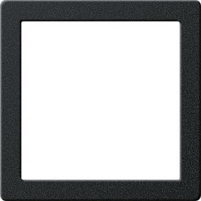 Рамка монтажная Gira System 55 черный матовый 264820