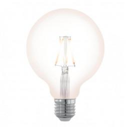 Лампа светодиодная филаментная диммируемая Eglo E27 4W 2200K прозрачный 11707