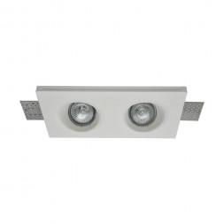 Встраиваемый светильник Maytoni Gyps DL002-1-02-W