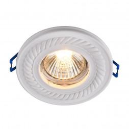 Встраиваемый светильник Maytoni Gyps DL283-1-01-W