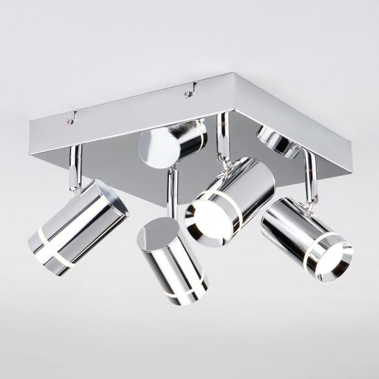 Светодиодный спот Eurosvet Stalk 20064/4 LED хром