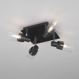 Потолочный светильник Eurosvet 20081/4 черный