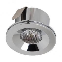 Встраиваемый светодиодный светильник Horoz Miranda 3W 4200К хром 016-004-0003