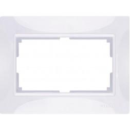 Рамка Snabb для двойной розетки белый basic WL03-Frame-01-DBL-white 4690389117008