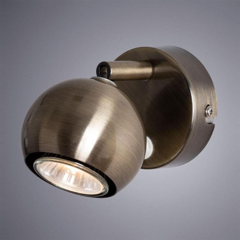 Спот Arte Lamp Brad A6253AP-1AB