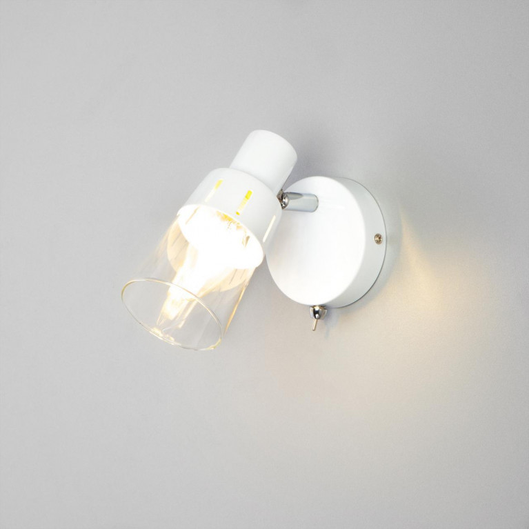 Настенный светильник Eurosvet 20081/1 белый