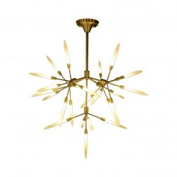 Подвесная светодиодная люстра Kink Light Мальва 07655