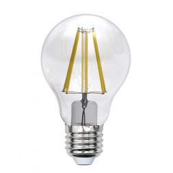 Лампа светодиодная филаментная E27 7W 3000K прозрачная LED-A60-7W/WW/E27/CL/MB GLM10TR