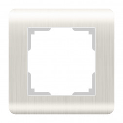 Рамка Stream на 1 пост перламутровый WL12-Frame-01 4690389123009