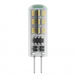Лампа светодиодная G4 2.5W 2800К прозрачная VG9-K1G4warm2W 6983