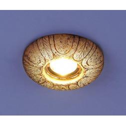 Встраиваемый светильник с двойной подсветкой Elektrostandard 3040 белая подсветка 4690389030529