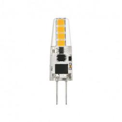 Лампа светодиодная G4 3W 3300K кукуруза прозрачная 4690389118999