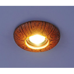 Встраиваемый светильник с двойной подсветкой Elektrostandard 3040 желтая подсветка 4690389030536