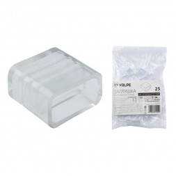 Заглушка (10974) Volpe UCW-Q220 K12 Clear 025 Polybag