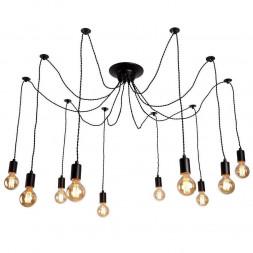 Подвесная люстра Arte Lamp 76 A9184SP-10BK