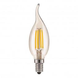 Лампа светодиодная филаментная Elektrostandard BLE1429 E14 9W 4200K прозрачная 4690389151293