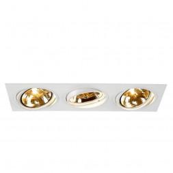 Встраиваемый светильник SLV New Tria 3 QRB111 113821