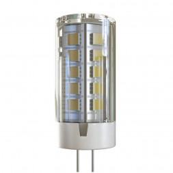 Лампа светодиодная G4 4W 4000К прозрачная VG9-K1G4cold4W-12 7031
