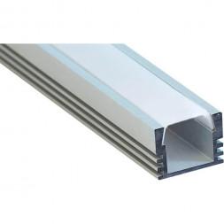 Профиль алюминиевый накладной Feron CAB261 10266