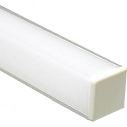 Профиль алюминиевый угловой квадратный Feron CAB281 10300