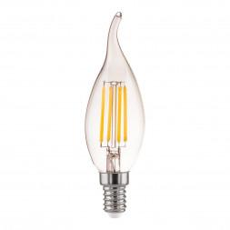 Лампа светодиодная филаментная диммируемая Elektrostandard BL159 E14 5W 4200K прозрачная 46903890685