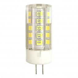 Лампа светодиодная G4 5W 4200K прозрачная 4690389093661