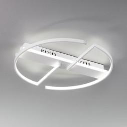 Потолочный светодиодный светильник Eurosvet Griff 90233/2 белый