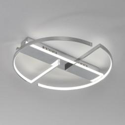 Потолочный светодиодный светильник Eurosvet Griff 90233/2 хром