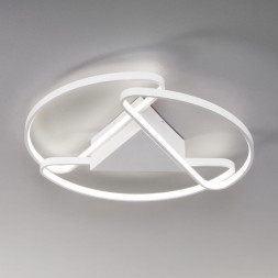 Потолочный светодиодный светильник Eurosvet Kristo 90232/3 белый